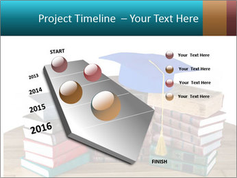 Stack of books PowerPoint Template - Slide 26