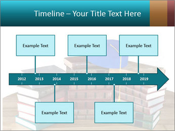 Stack of books PowerPoint Templates - Slide 28