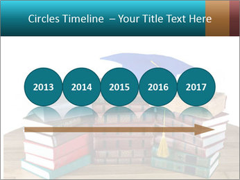 Stack of books PowerPoint Template - Slide 29