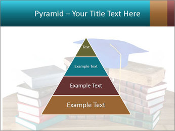 Stack of books PowerPoint Template - Slide 30