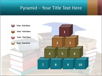 Stack of books PowerPoint Template - Slide 31