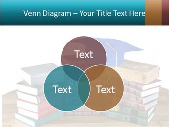 Stack of books PowerPoint Template - Slide 33