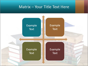 Stack of books PowerPoint Template - Slide 37