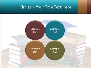 Stack of books PowerPoint Template - Slide 38