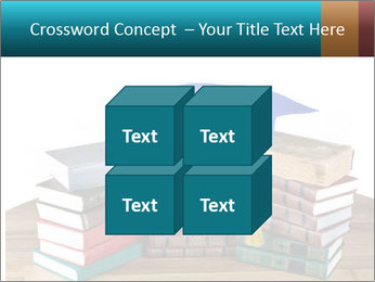 Stack of books PowerPoint Template - Slide 39
