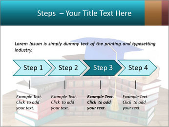 Stack of books PowerPoint Template - Slide 4