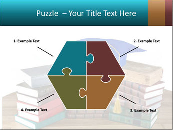 Stack of books PowerPoint Template - Slide 40