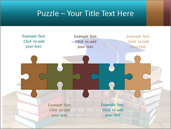 Stack of books PowerPoint Template - Slide 41