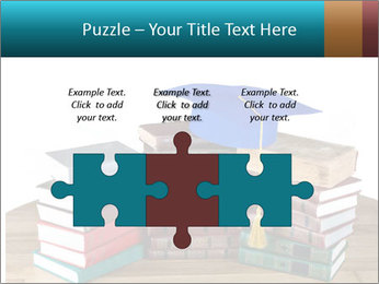 Stack of books PowerPoint Template - Slide 42