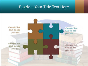 Stack of books PowerPoint Template - Slide 43