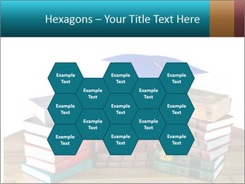 Stack of books PowerPoint Template - Slide 44