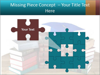 Stack of books PowerPoint Template - Slide 45