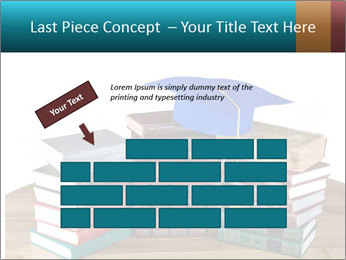 Stack of books PowerPoint Template - Slide 46