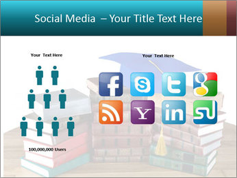 Stack of books PowerPoint Template - Slide 5