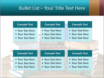 Stack of books PowerPoint Template - Slide 56