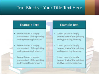 Stack of books PowerPoint Template - Slide 57