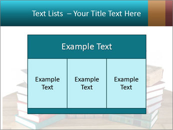 Stack of books PowerPoint Template - Slide 59