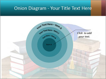 Stack of books PowerPoint Template - Slide 61