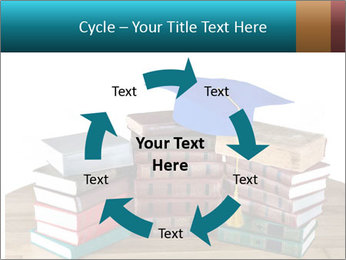 Stack of books PowerPoint Template - Slide 62