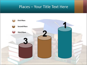 Stack of books PowerPoint Template - Slide 65