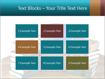 Stack of books PowerPoint Template - Slide 68
