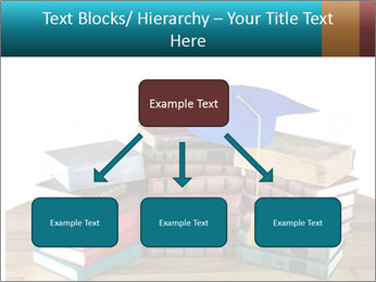 Stack of books PowerPoint Template - Slide 69