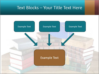 Stack of books PowerPoint Template - Slide 70