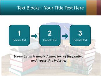 Stack of books PowerPoint Template - Slide 71