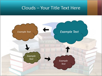 Stack of books PowerPoint Template - Slide 72