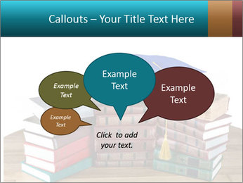 Stack of books PowerPoint Template - Slide 73