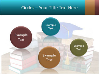 Stack of books PowerPoint Template - Slide 77