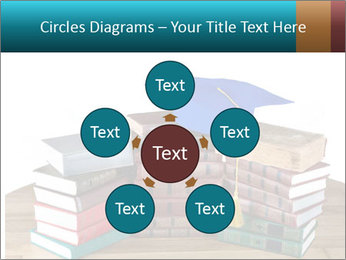 Stack of books PowerPoint Template - Slide 78