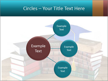 Stack of books PowerPoint Template - Slide 79