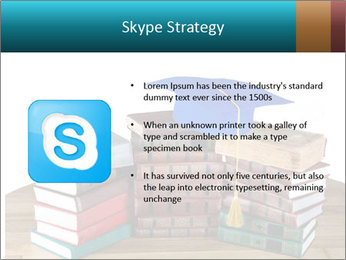 Stack of books PowerPoint Template - Slide 8