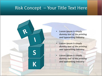 Stack of books PowerPoint Template - Slide 81
