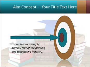 Stack of books PowerPoint Template - Slide 83