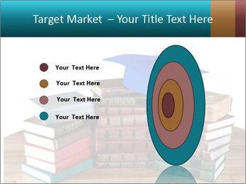 Stack of books PowerPoint Template - Slide 84