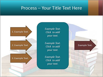 Stack of books PowerPoint Template - Slide 85
