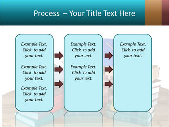 Stack of books PowerPoint Template - Slide 86