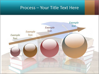 Stack of books PowerPoint Template - Slide 87