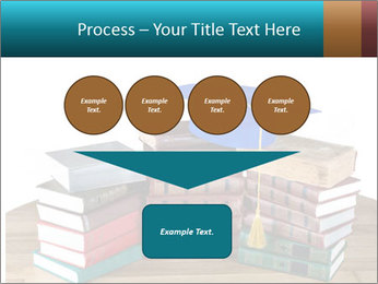 Stack of books PowerPoint Template - Slide 93