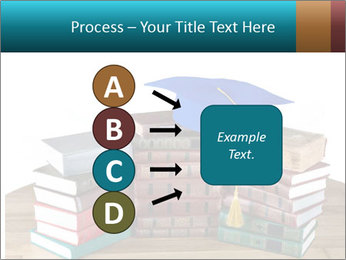 Stack of books PowerPoint Template - Slide 94