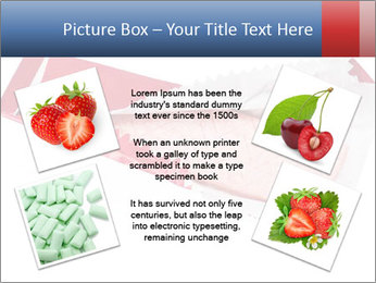 Chewing gum PowerPoint Template - Slide 24
