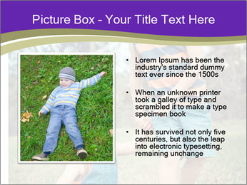 Two mixed race PowerPoint Templates - Slide 13