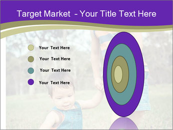 Two mixed race PowerPoint Templates - Slide 84