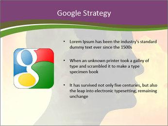Human head PowerPoint Templates - Slide 10