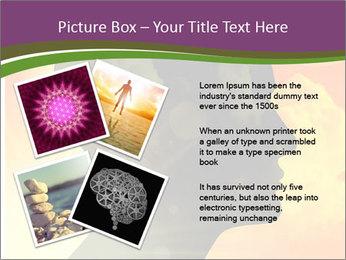 Human head PowerPoint Templates - Slide 23