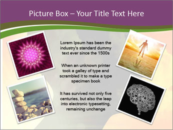 Human head PowerPoint Templates - Slide 24
