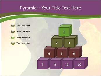 Human head PowerPoint Templates - Slide 31