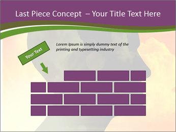 Human head PowerPoint Templates - Slide 46